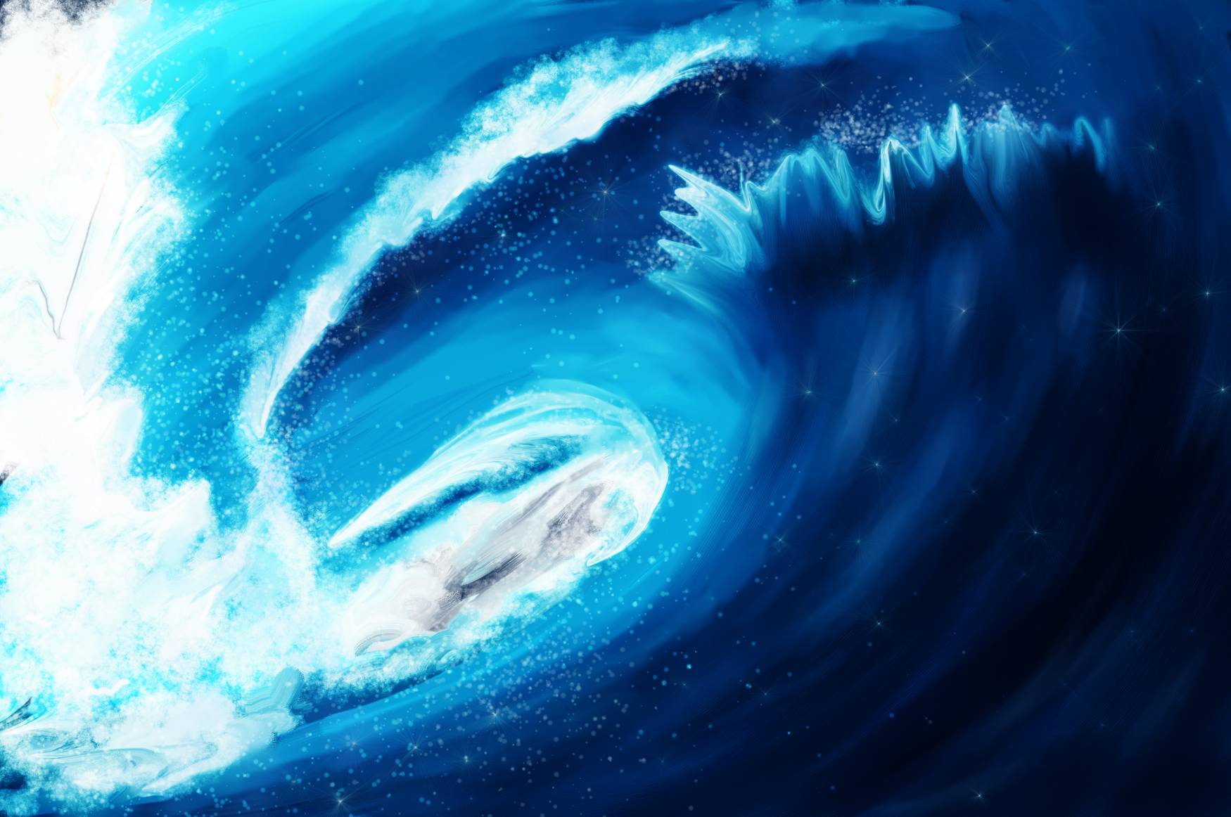 The magical wave
