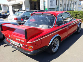 3.0 CSL BMW Alpina rear by Agamemmnon