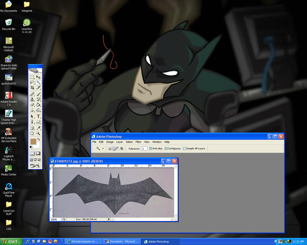 the-batcomputer's desktop by the-batcomputer