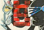 Sketch Card - GI Joe Ninjas