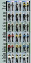 Star Trek Alternate Uniforms