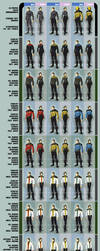Star Trek Alternate Uniforms by the-batcomputer