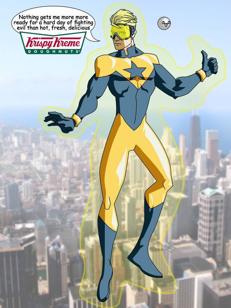 Booster Gold by the-batcomputer