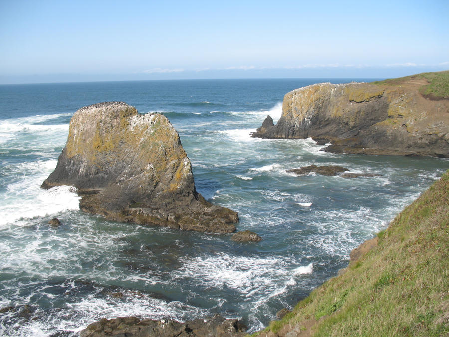 Oregon coast by findmeaname