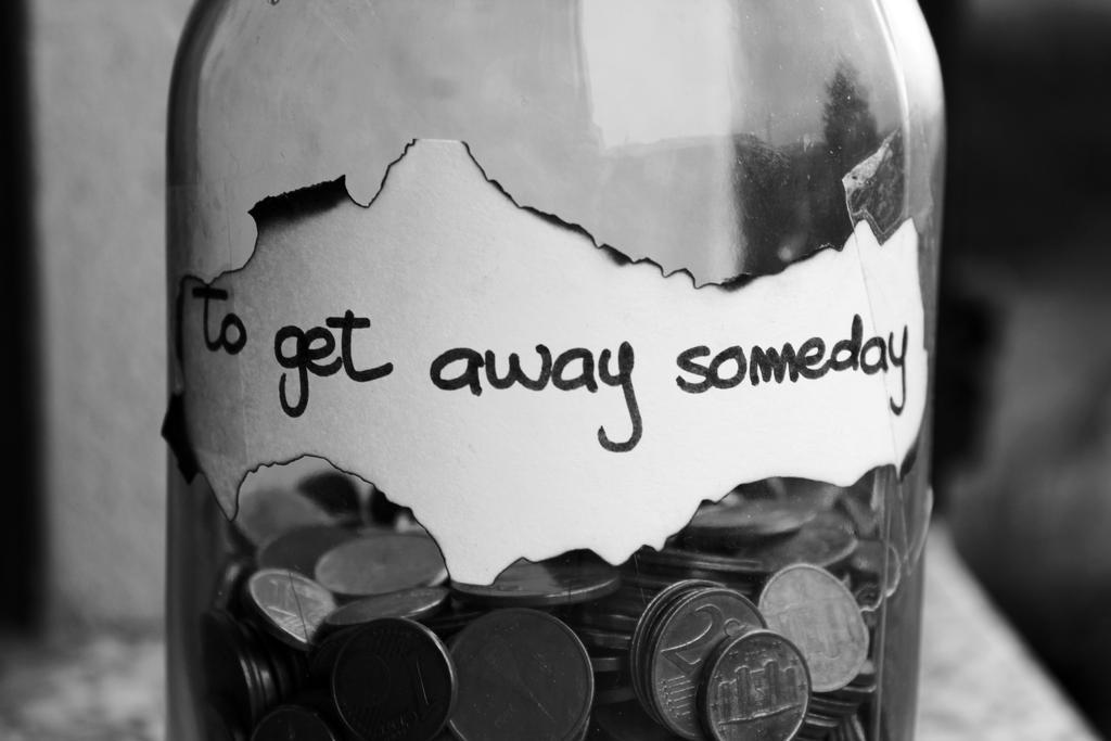 To get away someday by Enniwa