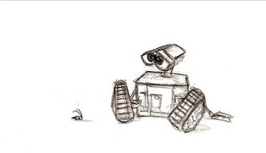 Wall-E, by pixarjunkie by PixarPlanetdA