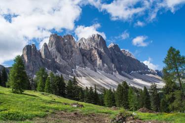 Sass Rigais Dolomiti Gruppo delle ODLE, Italy