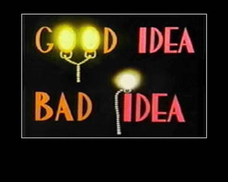good idea bad idea 03 by grimmjack on deviantart. Black Bedroom Furniture Sets. Home Design Ideas