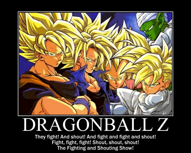 DBZ in a nutshell by grimmjack on DeviantArt