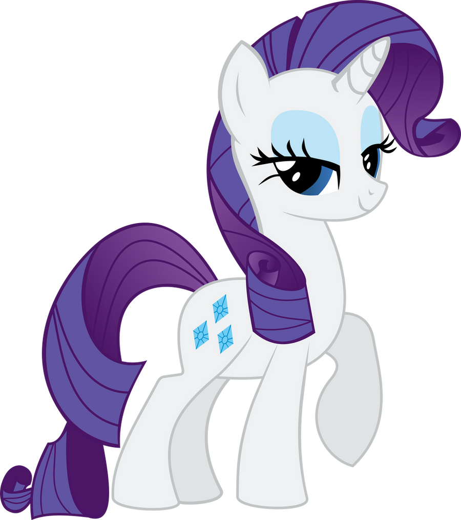 Rarity- Season 2 Poster Vector by ClockworkSprocket