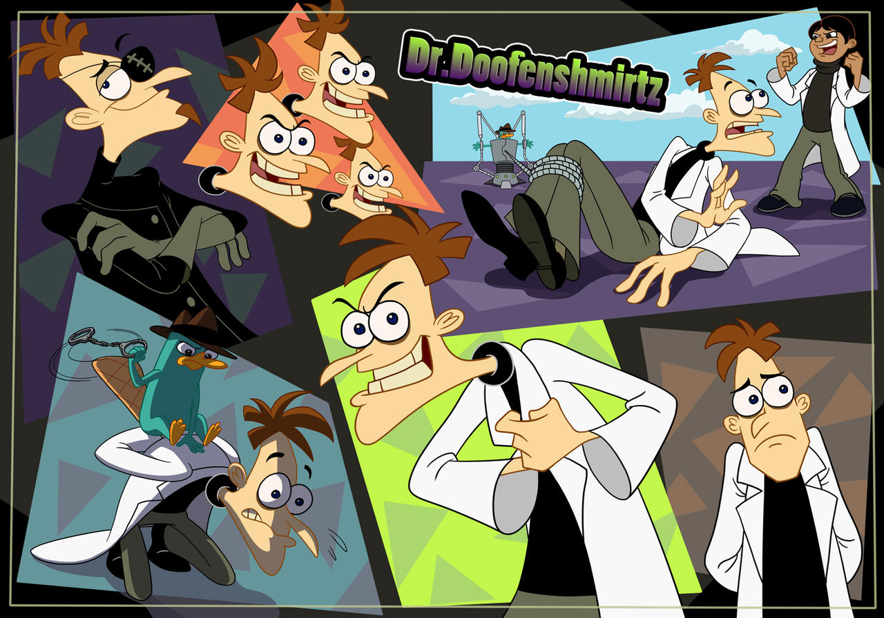 Dr.Doofenshmirtz by yyyei