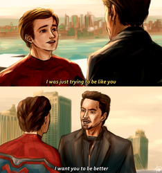 Peter and Tony