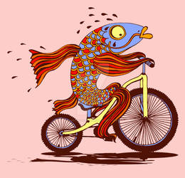 A Fish Needs a Bike