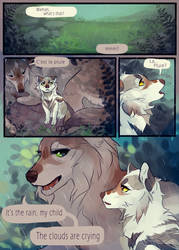 clouds and starlight pt.1   WoLF by Copperhaven