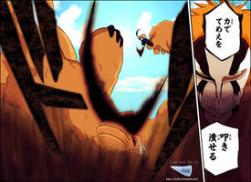 Bleach 378 : ichigo vs Yammi by Tice83