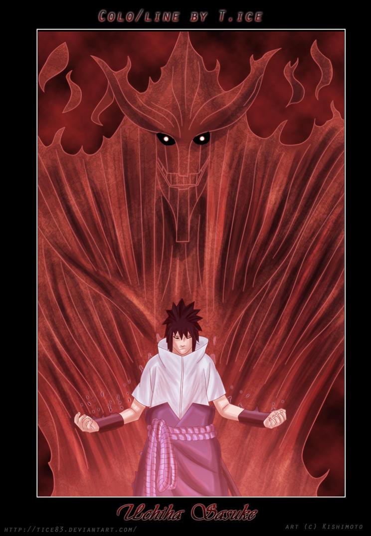 Naruto : Sasuke Uchiha by Tice83