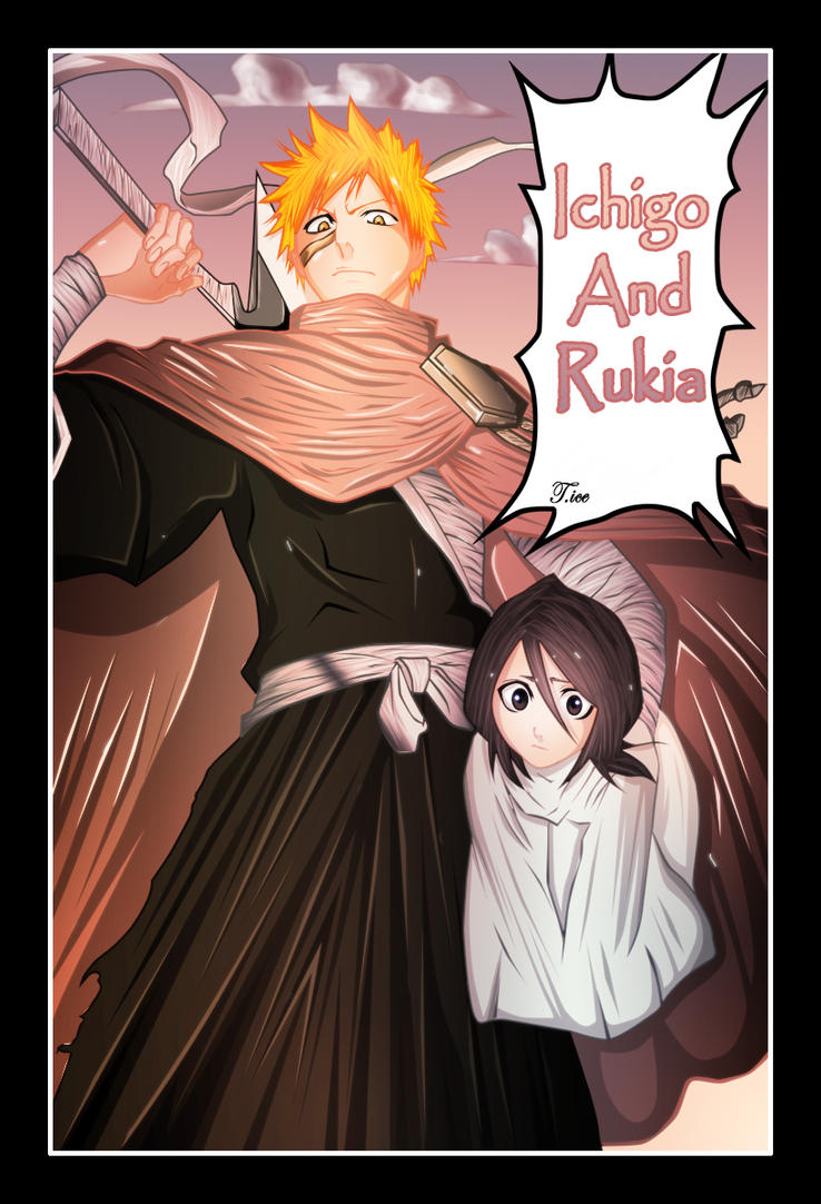 Ichigo And Rukia Baby Bleach : ichigo and ru...