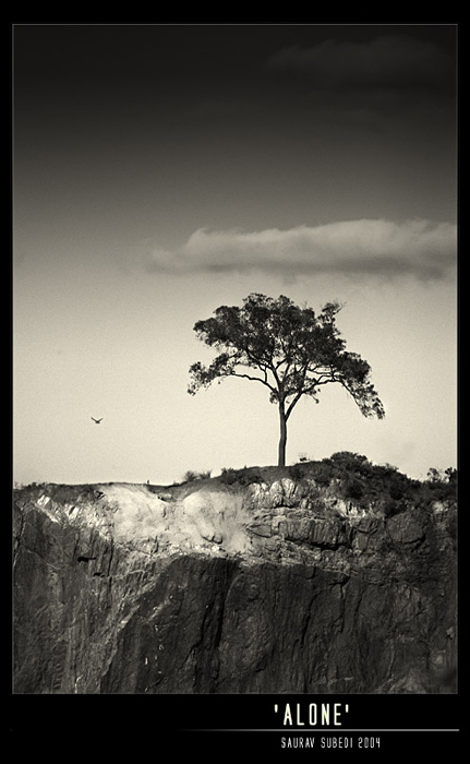 Alone by Saurav