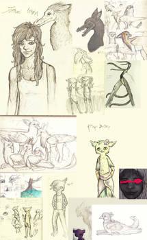 sketchdump things