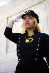 Lady Blackhawk cosplay: Nyxling shoot 1 by pohutukosplay