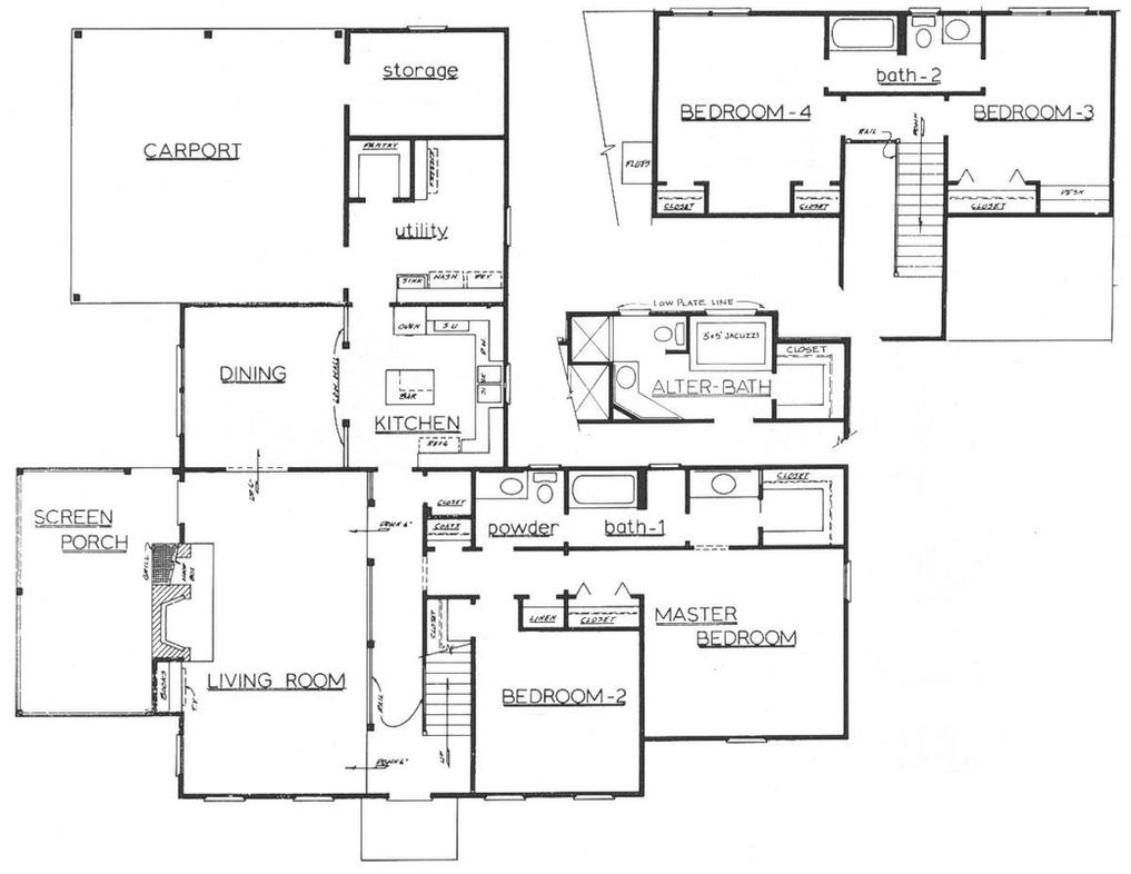 Architectural floor plan by sneaky chileno on deviantart for Architectural home plans