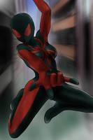 Ultimate Spiderwoman by oninnivrek