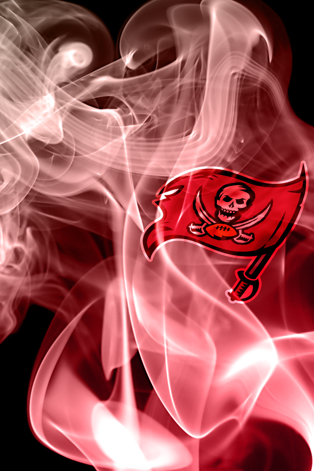 Tampa Bay Buccaneers Smoke effect