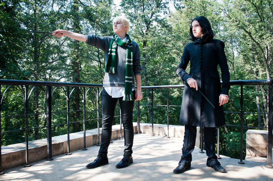 Severus Snape and Draco Malfoy by AhrimanFox on DeviantArt