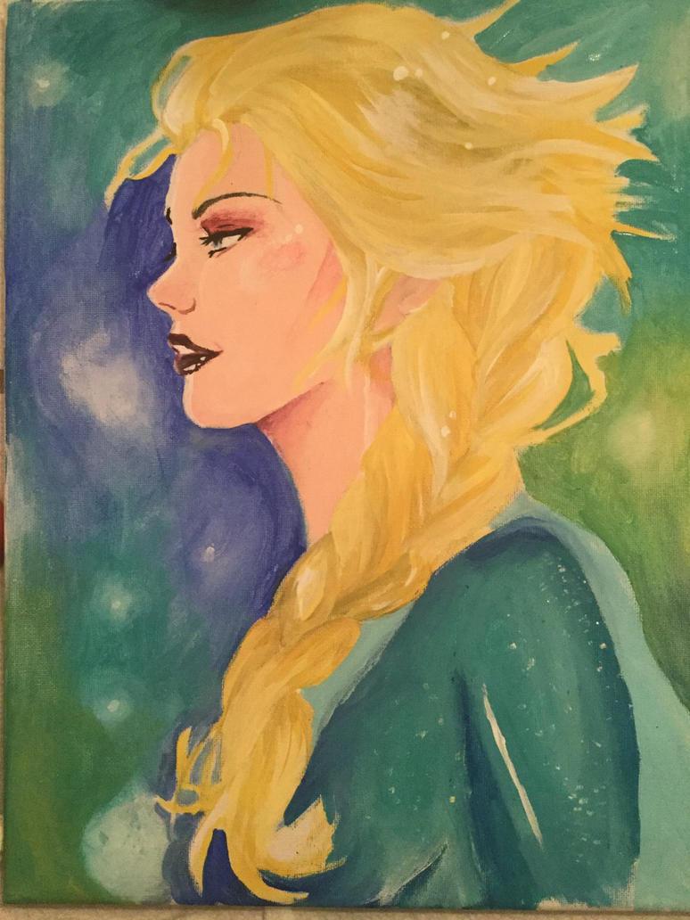 Elsa  by Valanime123