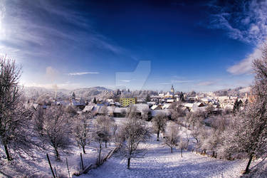 Winter in Vizovice