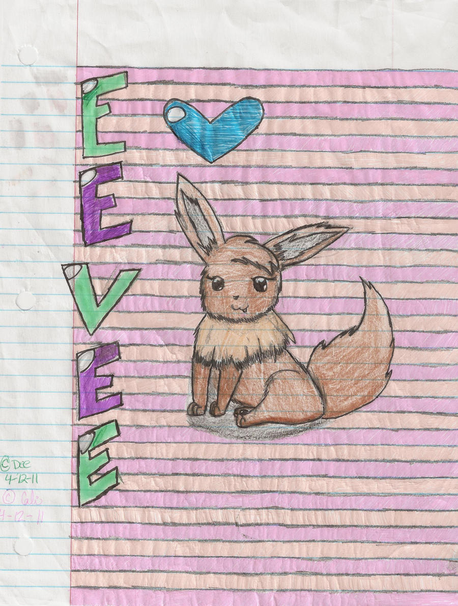 Eevee by cali-cat