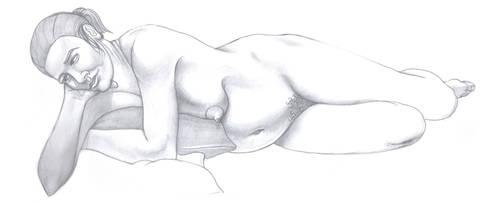 Pregnant model by kordal