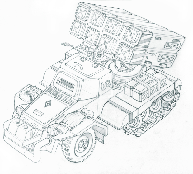 Scout artillery by kordal