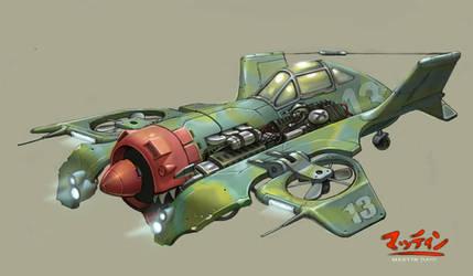 VTOL aircraft by kordal
