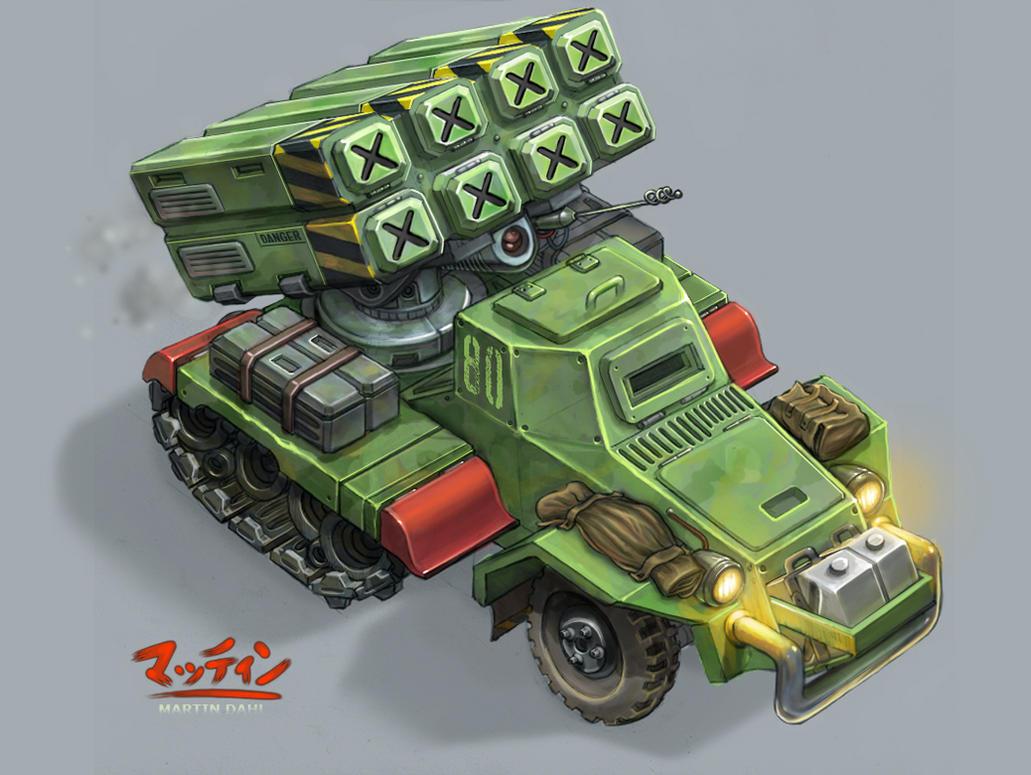 Light artillery by kordal