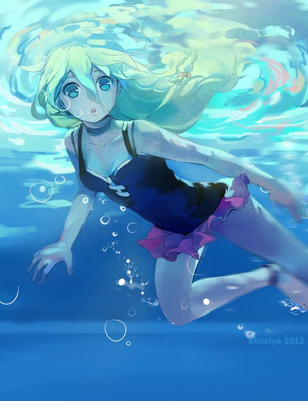 Startling Blue by Akimiya