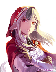 FE Fates Speedpaint - Velouria by Akimiya
