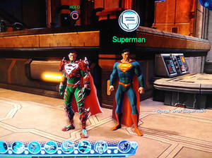 Loth-Eth and his mentor Superman