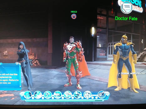 Loth-Eth, Raven, and Doctor Fate