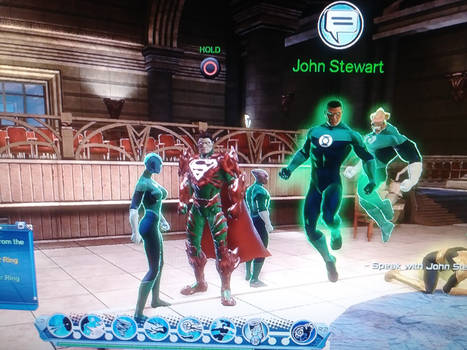 Loth-Eth and Green Lantern Corps