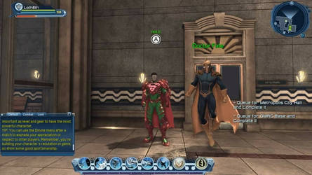 Loth-Eth and Doctor Fate