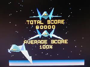 I got a perfect score for Star Fox