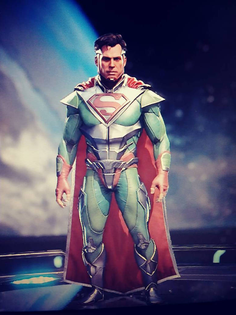 Superman Level 30 (Updated) in Injustice 2