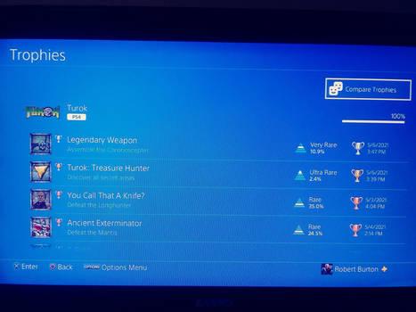Turok for PS4: 100%