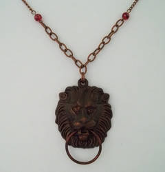 Vintage Door Knocker Necklace