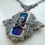 Gunmetal Pirate Amulet