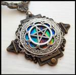 Victorian Pentagram Necklace
