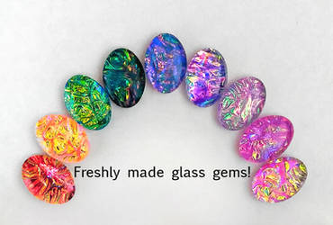 Handmade Glass Gems
