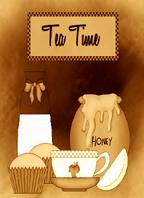 Tea Time by CarrieAnnTaylor