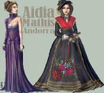 -:Miss Andorra - Round 3:- by FionaCreates